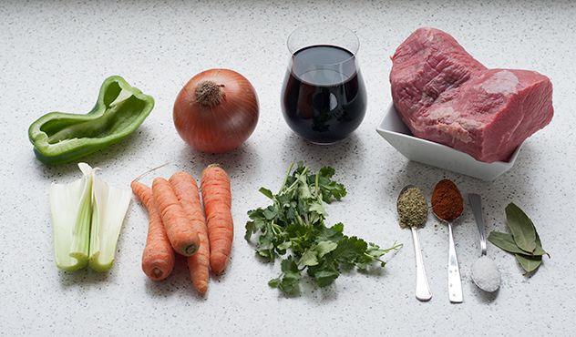 Espacio Culinario: Cómo hacer Carne Mechada Simple (paso a paso)