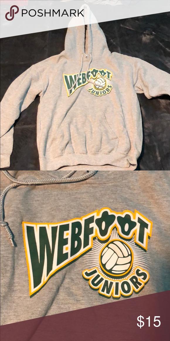 Webfoot Juniors Volleyball Sweatshirt Volleyball Sweatshirts Sweatshirts Sweatshirts Hoodie