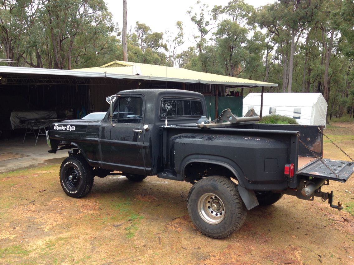 Ford F100 1970 With A 84 Step Side Tray Monster Trucks Trucks Ford