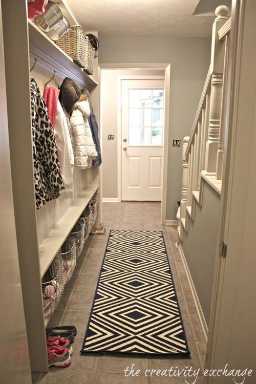 long narrow hallway entrance decorating design ideas | Hallway and ...