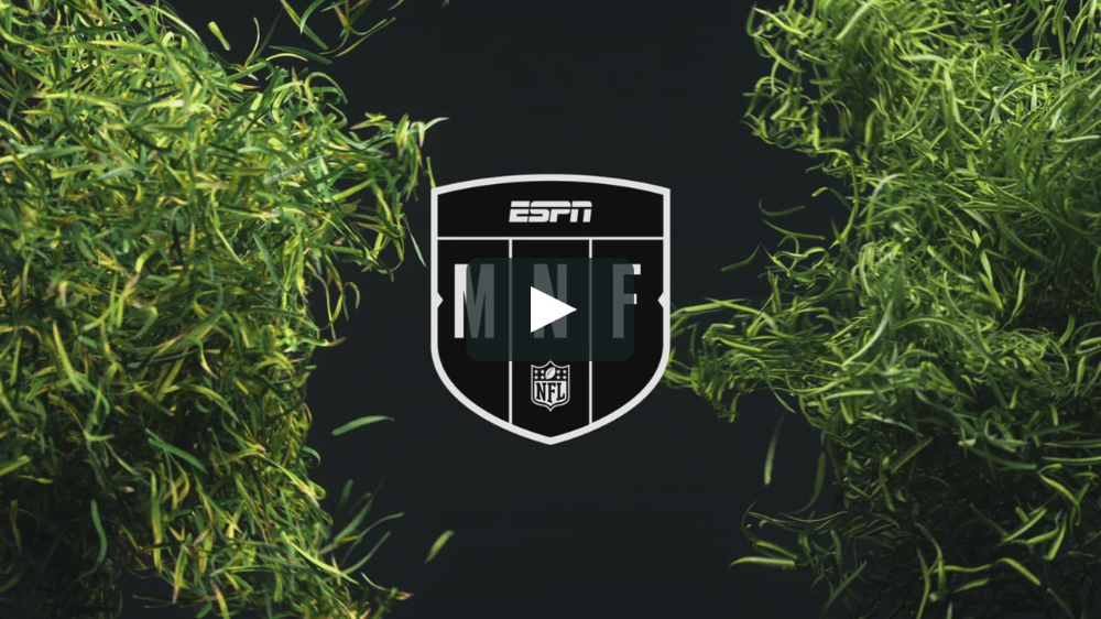 Espn Monday Night Football Game Package On Behance Monday Night Football Game Monday Night Football Sunday Night Football