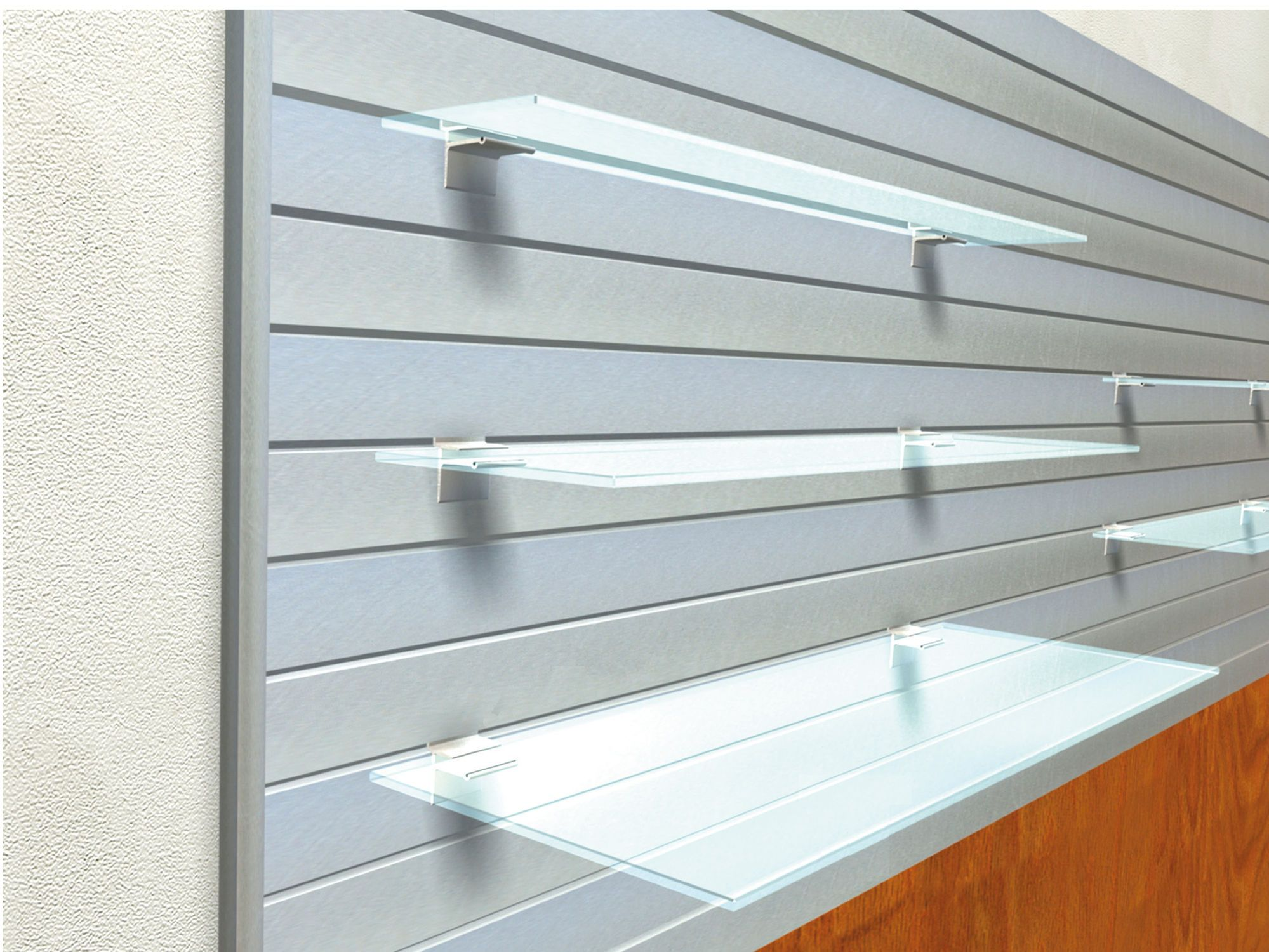 Wall Mounted Display Rack Gl For S Lamalu Sodem System