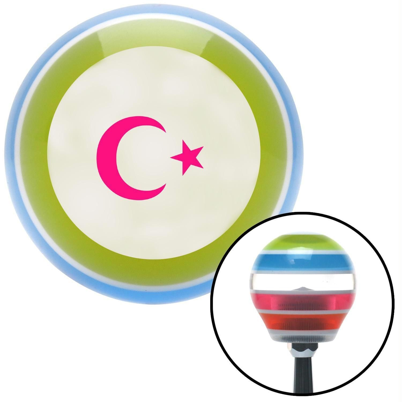 Pink symbol of islam stripe shift knob with m16 x 15 insert pink pink symbol of islam stripe shift knob with m16 x 15 insert buycottarizona Gallery