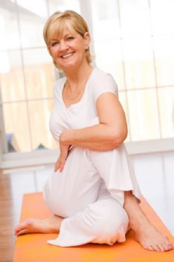 8 Hip Flexor Stretches and Exercises for Healthy Hips--Stretch the hip flexors daily, which will align lower back, and prevent swayback, thus preventing lower belly pooch.