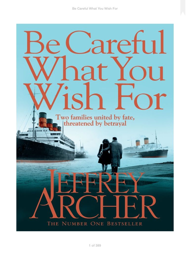 Jeffrey Archer Clifton Chronicles Pdf