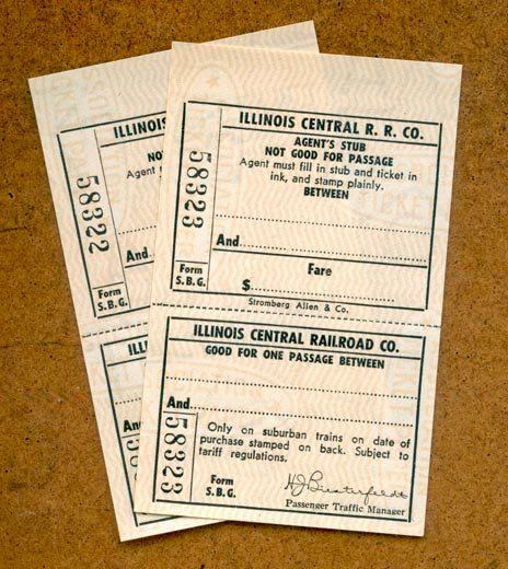 Vintage Railway Tickets - Blank on Etsy, $285 Nateu0027s room - blank ticket