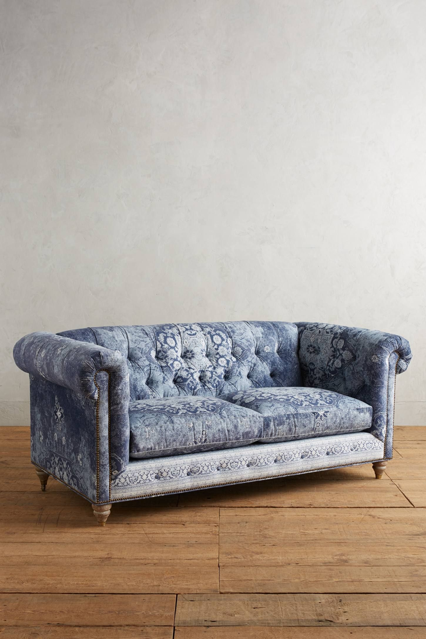 Charmant Shop The Rug Printed Lyre Chesterfield Petite Sofa And More Anthropologie  At Anthropologie Today. Read Customer Reviews, Discover Product Details And  More.