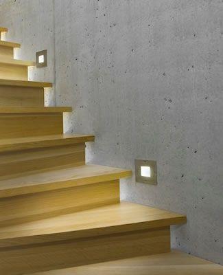 Slv lighting 227485 227490 227495 wetsy exterior step light or well light step lights