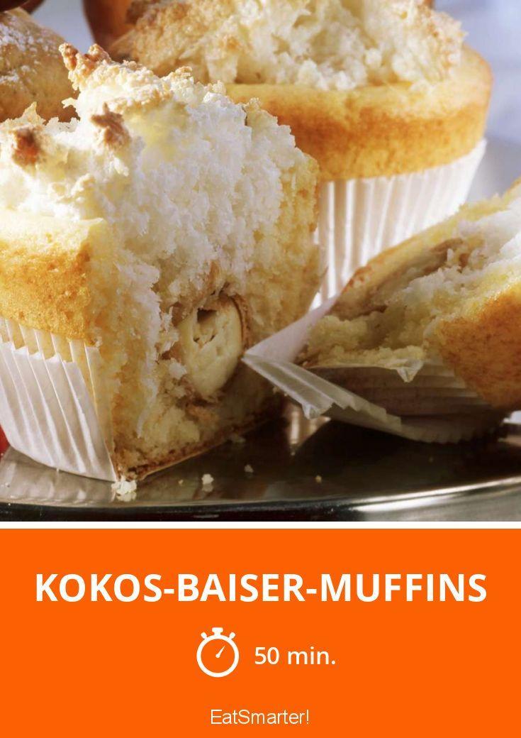 Kokos-Baiser-Muffins