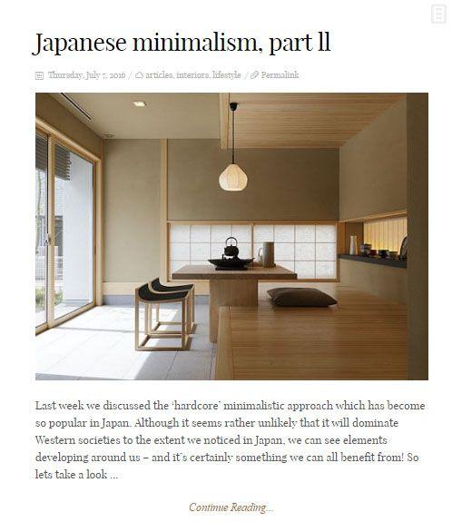 Interior Design Blog   Attractive Minimalism Www.attractiveminimalism.co.uk  #japanese #