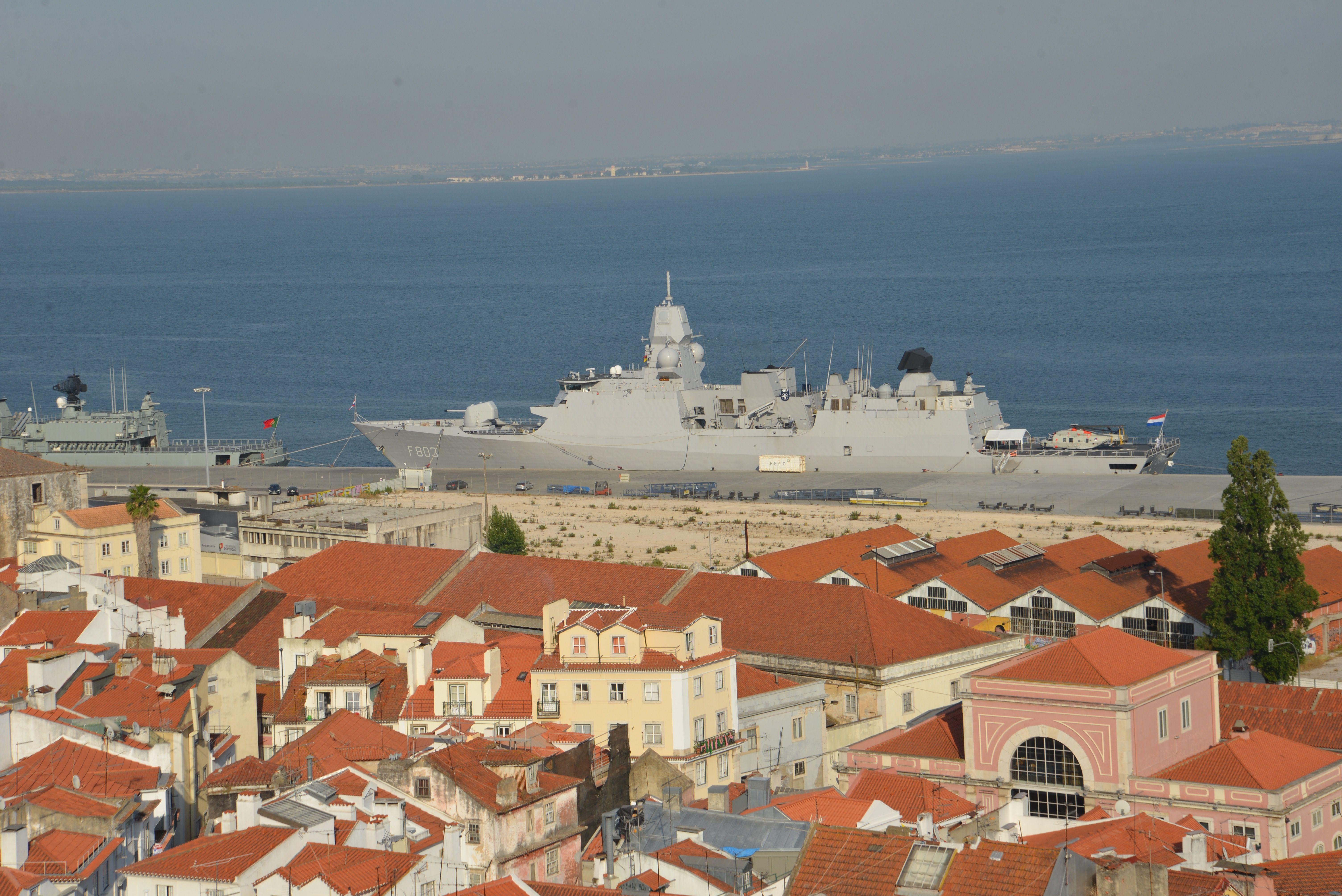 Lissabonner Hafen.