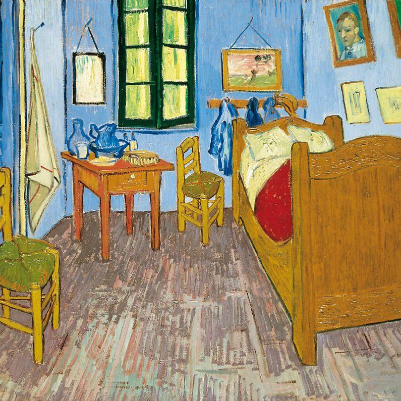 Poster Van Gogh Bedroom in Arles Boutiques de musées Art I Enjoy - Description De La Chambre De Van Gogh