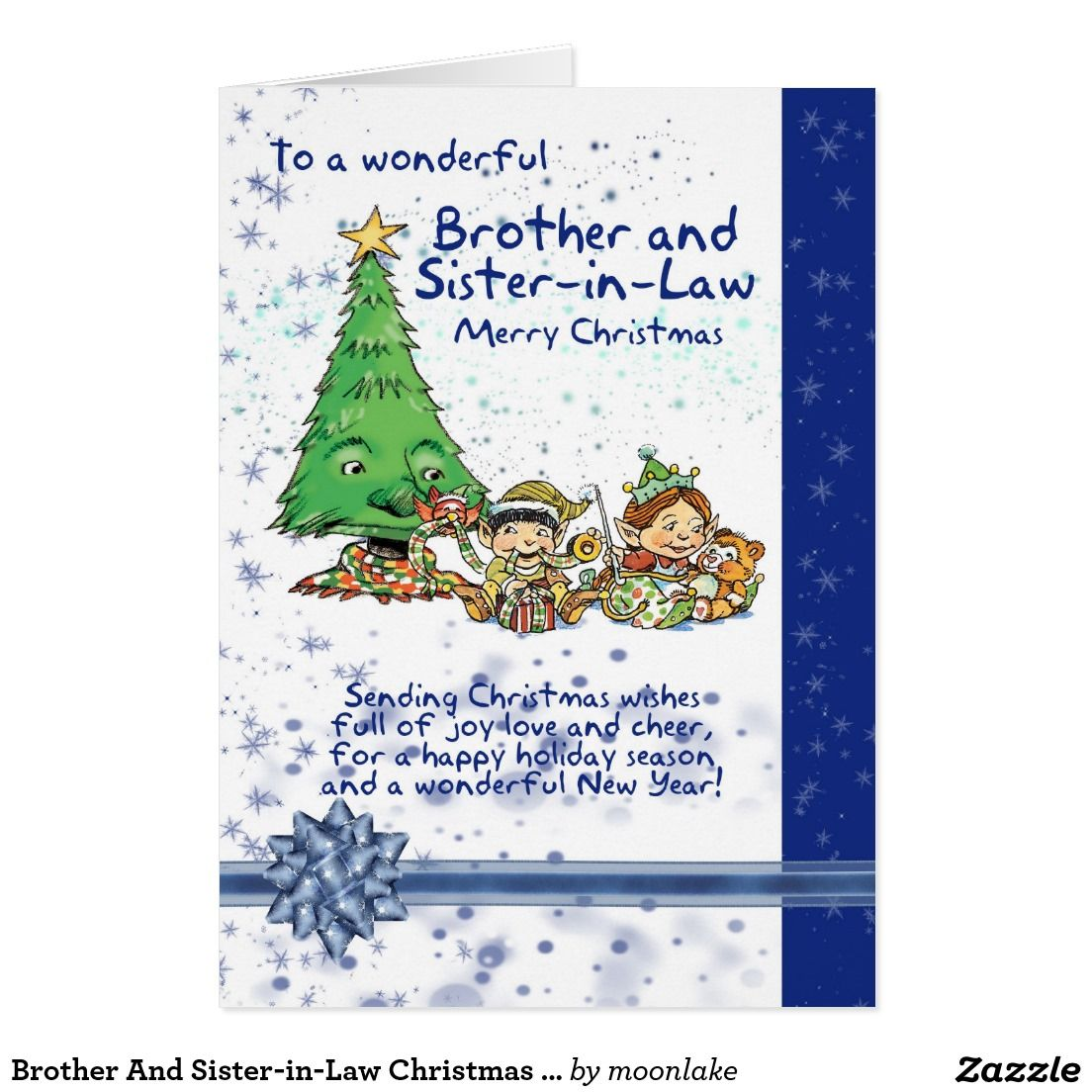 Brother and sister in law christmas card season greeting cards brother and sister in law christmas card m4hsunfo