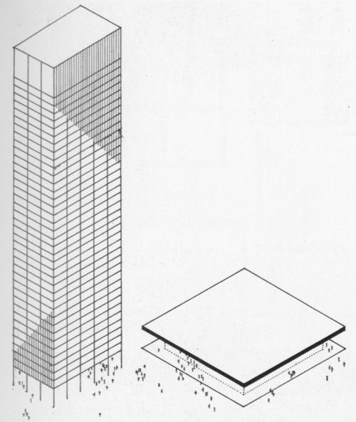 The seagram building and the neue nationalgalerie these for Seagram building ppt