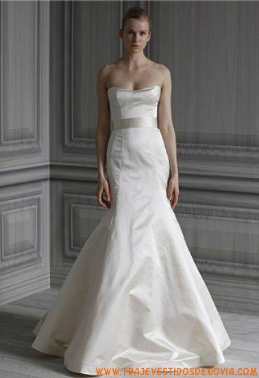 P/V Simplicity Vestido de Novia Monique Lhuillier | vestidos de ...