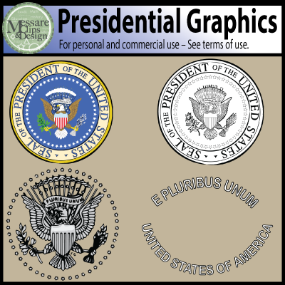 Free Clipart Of The President Of The United States Seal