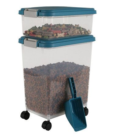 IRIS Airtight Pet Food Storage Combo With Scoop At PetSmart. Shop All Dog  Storage U0026 Scoops Online