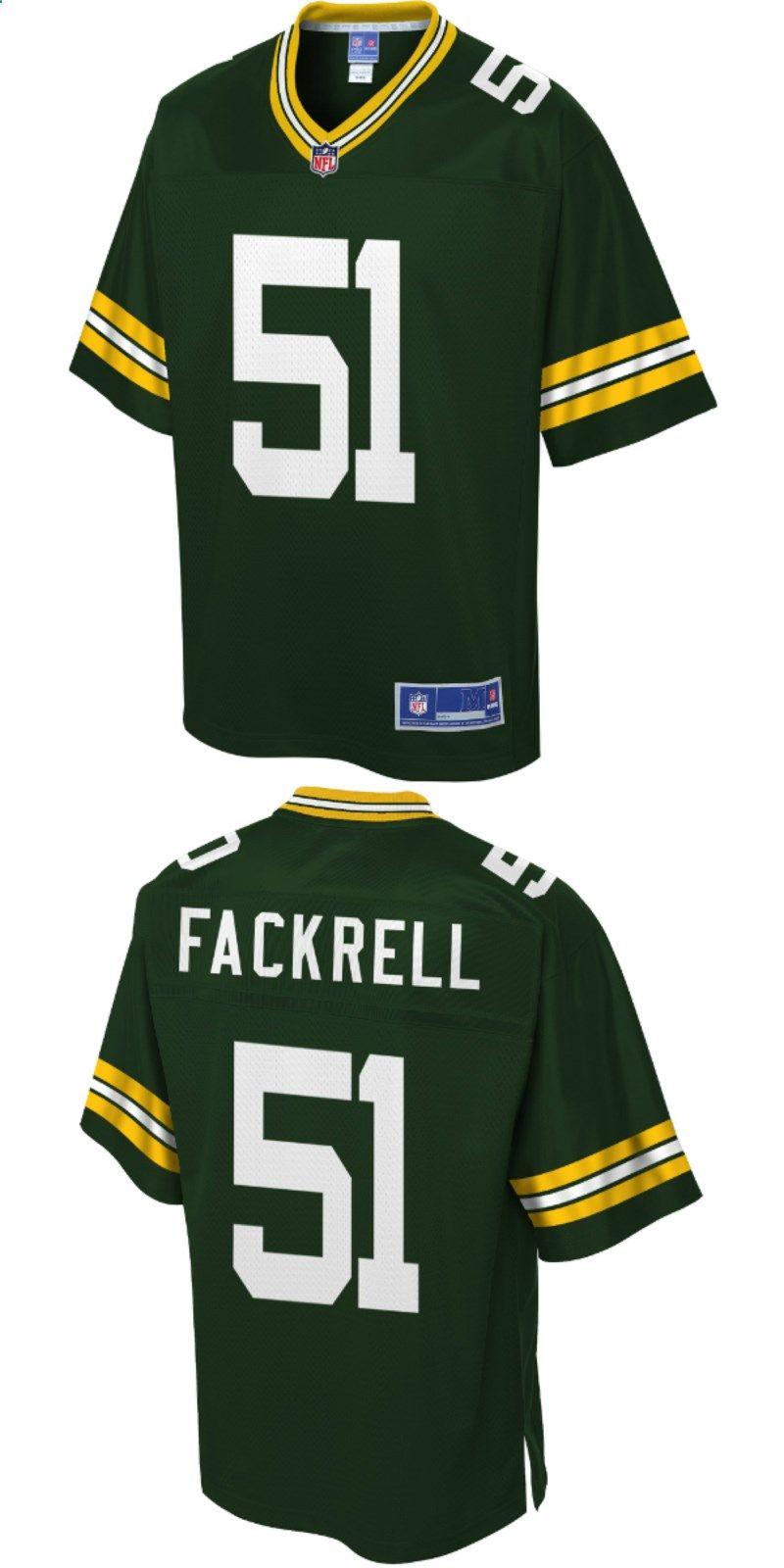 Kyler Fackrell Green Bay Packers Nfl Pro Line Player Jersey Green Nfl Packers Nfl Outfits Packers Football