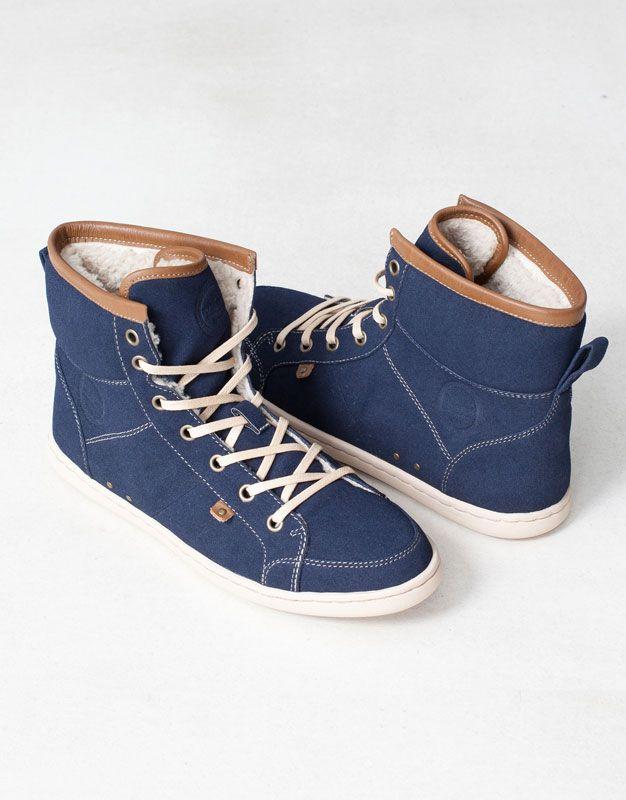 LINED PLIMSOLL BOOTS - Women's footwear - WOMAN - United Kingdom
