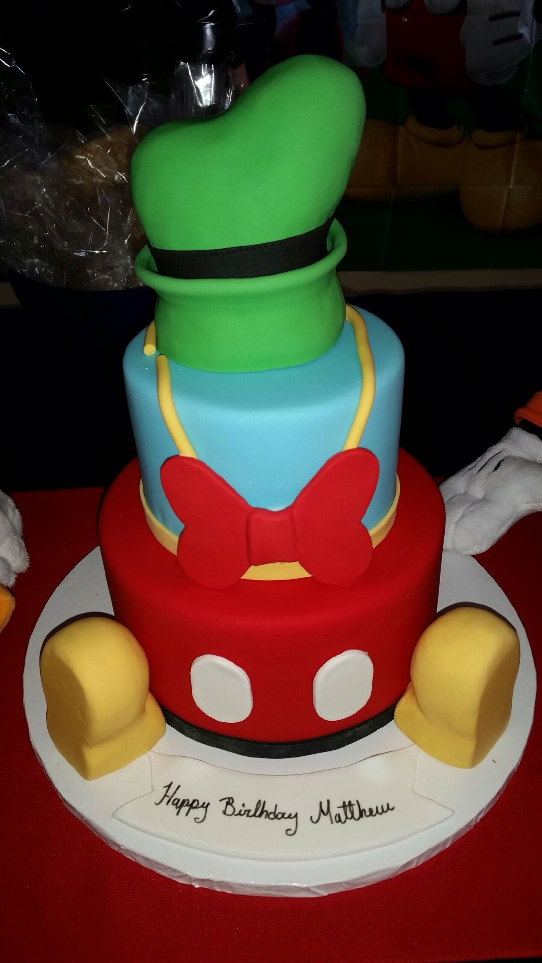 Mickey Mouse Clubhouse Bedroom Mickey Mouse Clubhouse Cake Party Pinterest Mickey Mouse