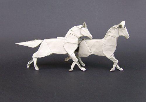 40 Delightful Origami Art Designs Paper Design White Horses And