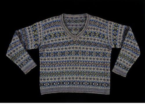 1931 Shetland Islands jumper, from the V&A Museum. | British Country ...