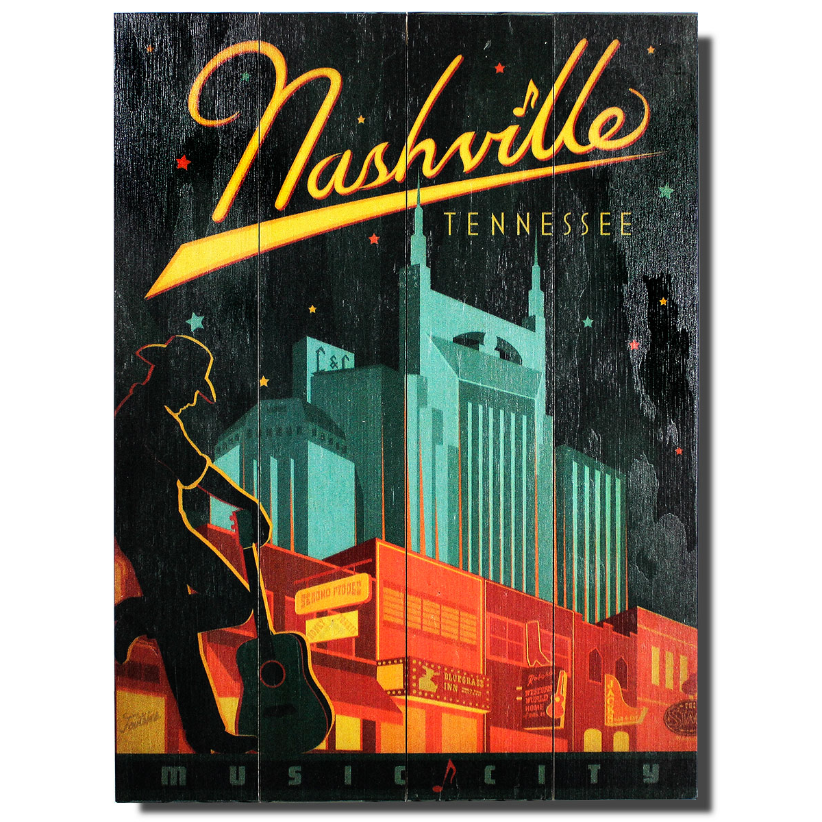 Nashville Music City Sign | Celebrating American Cities in ...