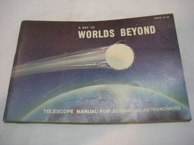 Vintage Tasco Optics Telescope Manual A Key to Worlds Beyond | eBay