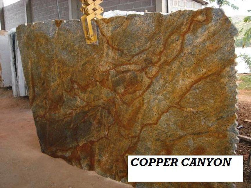 Copper Colored Granite : Copper canyon granite slab user edges