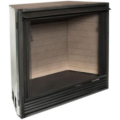 Procom 36 In Ventless Gas Firebox Insert Pc36vfc Vent Free Gas
