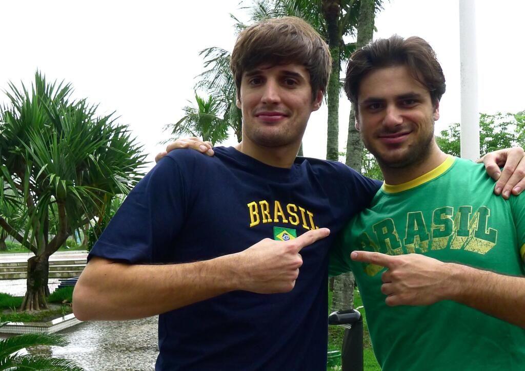 Obrigado Brasil!! We had an amazing time here! @Meghan Larson @lukasulic