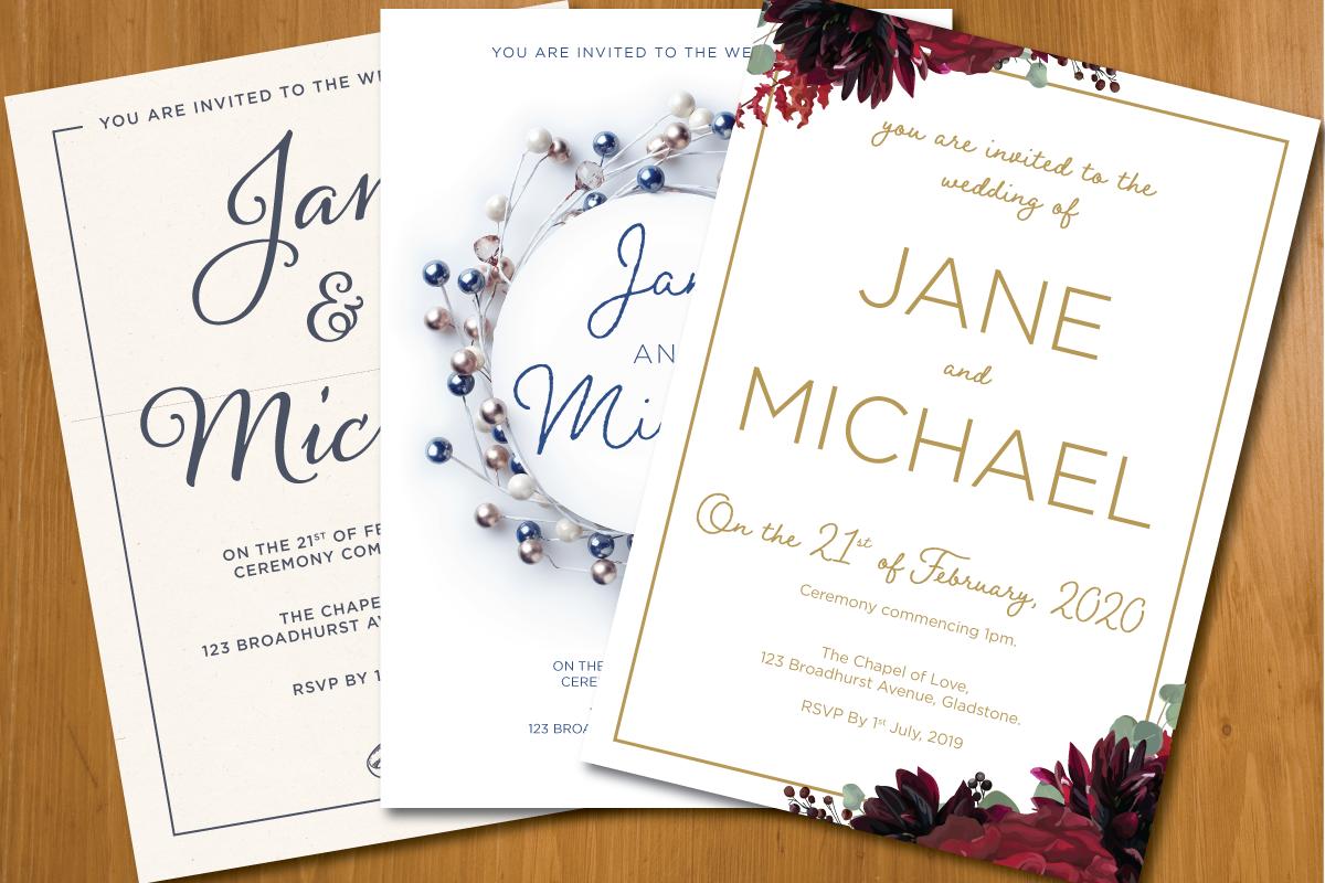 Wedding Invitation Pack Design Invitations Wedding Day Invitations Wedding Invitations