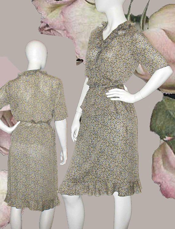 3b89daffdd Due per Due Bloomingdale s Silk Floral Crepe Georgette 2 Piece Dress ...