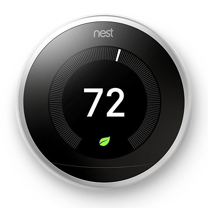 Nest Smart Thermostat 3rd Generation Universal Programmable Wifi White T3017us Nest Smart Thermostat Nest Learning Thermostat Nest Thermostat