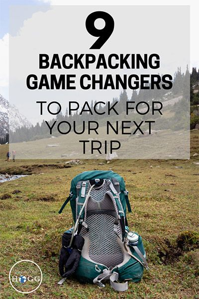 Photo of 9 Backpacking Game Changers To Pack For Your Next Trip