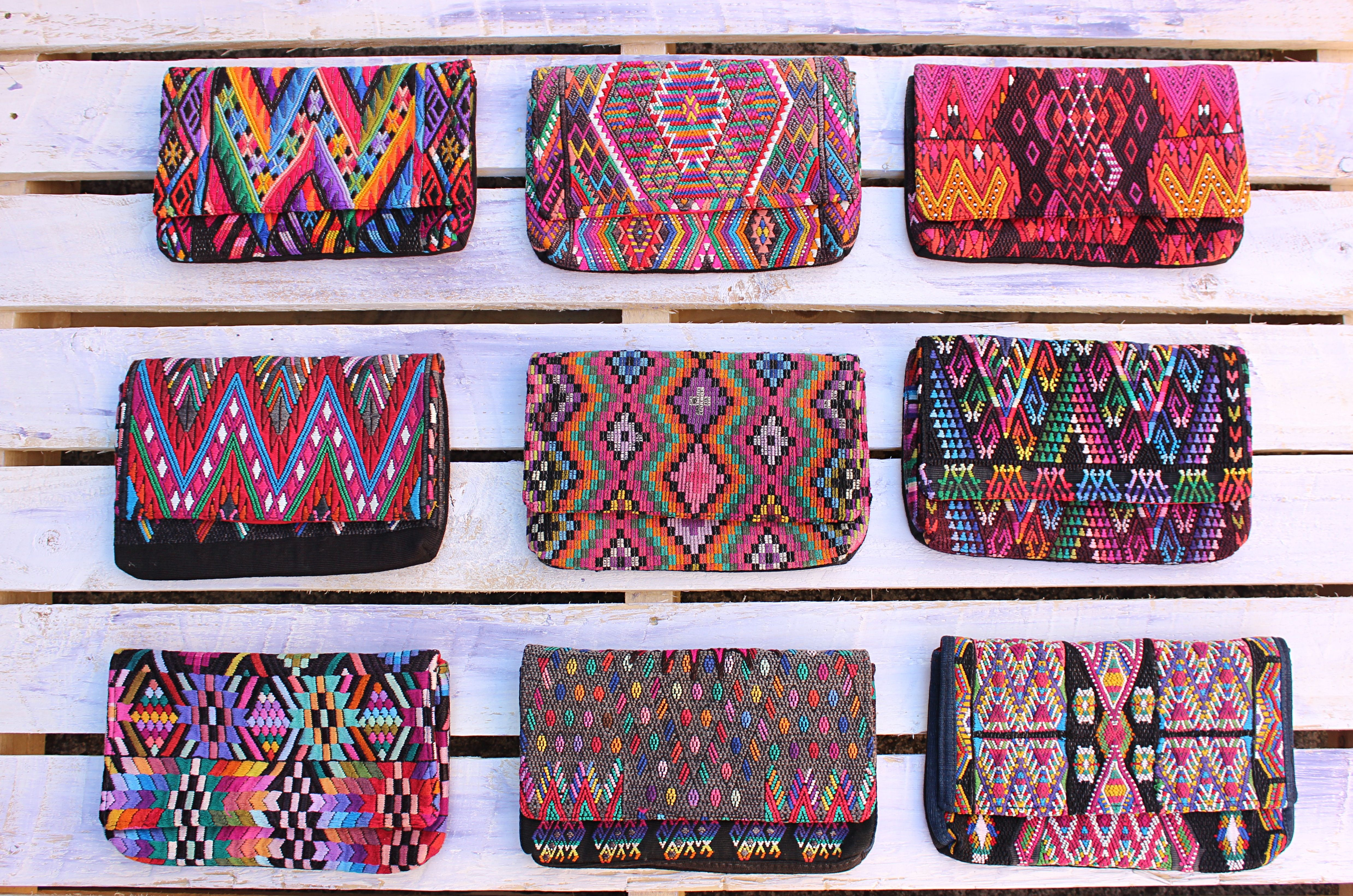 Beautiful hand loomed Chi Chi Clutches from Guatemala ...