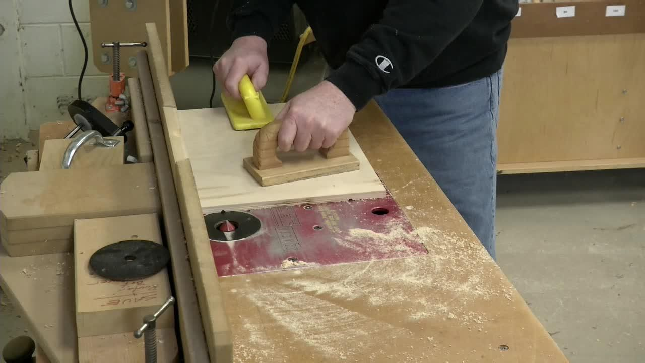 Easy plywood box or tray plywood boxes router