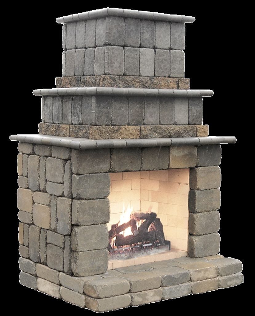 Do it yourself outdoor fireplace kits ideas