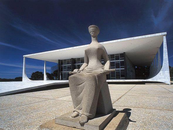 STF Estátua da Justiça
