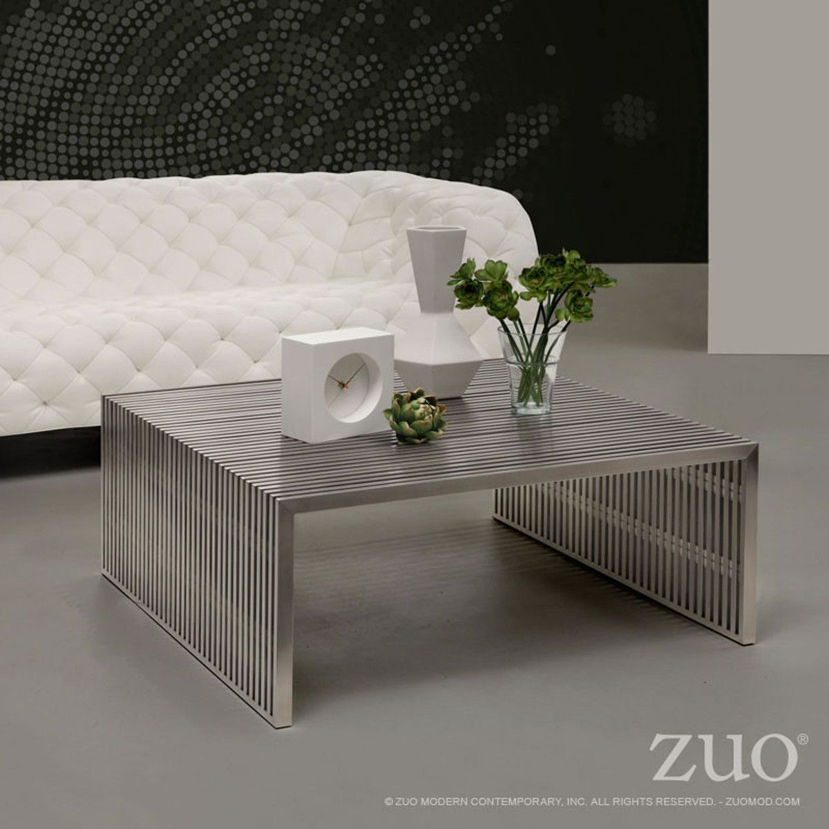 Zuo Modern Novel Square Coffee Table   100084