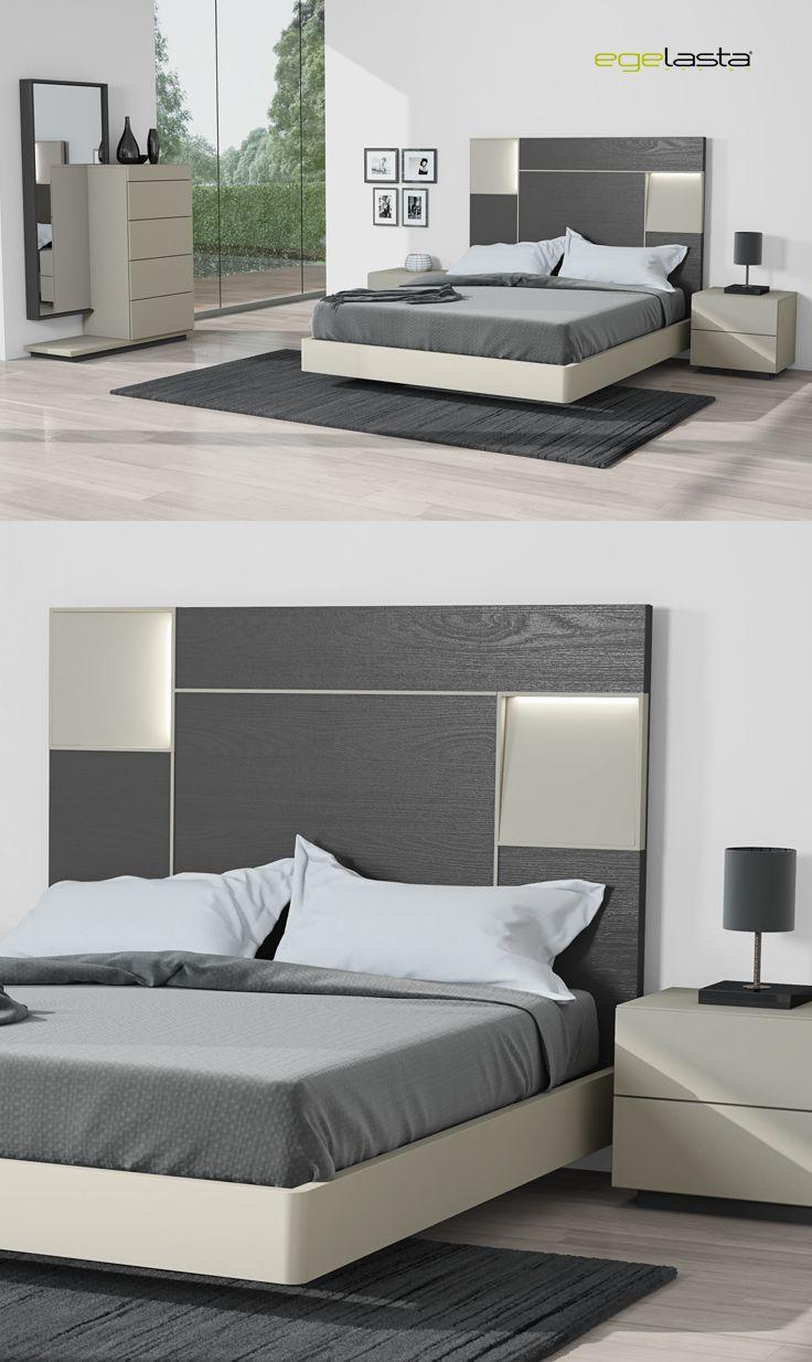 Egelasta Mueble Moderno Madera Mobiliario De Hogar  # Muebles Camas King Size