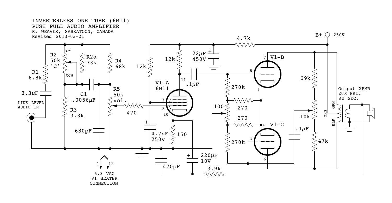Low Power Amp Celbridge Cabs Boomer Audio Amplifier Using Lm4906 Inverterless Tube
