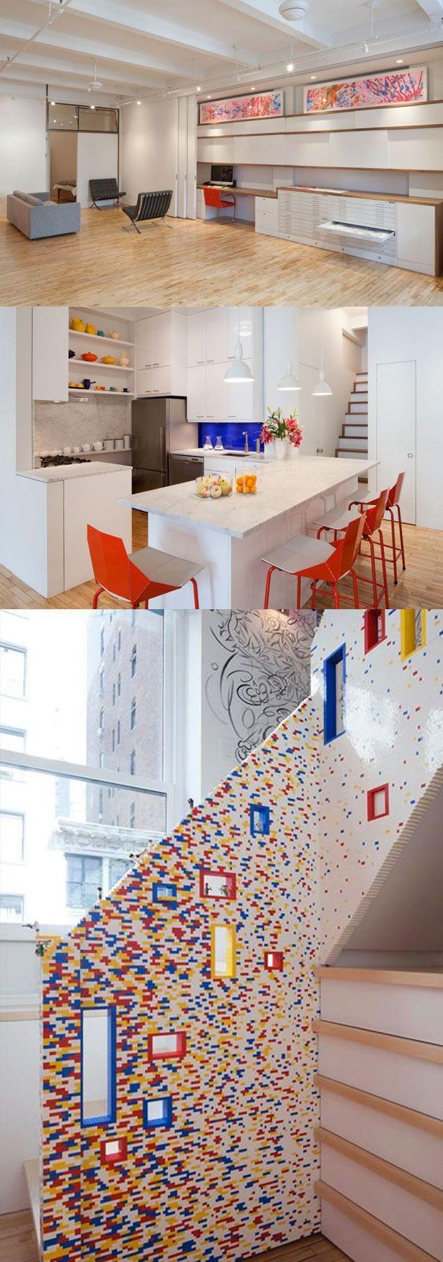 Table Basse Lego Geant deco-maison-lego-2   maison lego, déco maison, deco