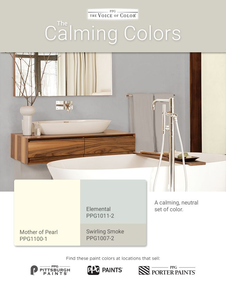 The calming palette is a relaxing neutral set of - Is blue a calming color ...