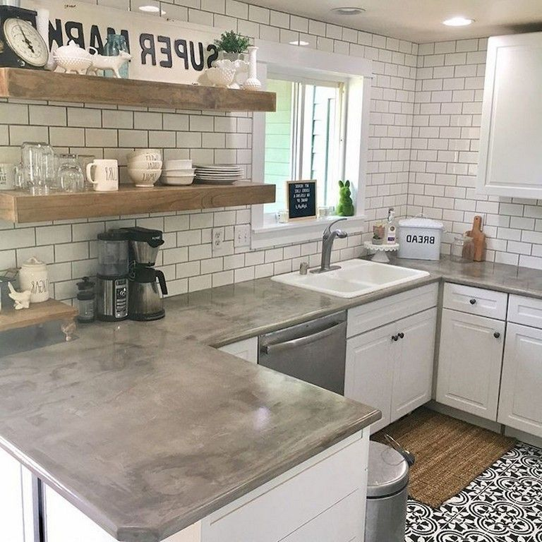 63 marvelous modern farmhouse kitchen cabinet and countertops ideas kitchen cabinets on farmhouse kitchen decor countertop id=73723