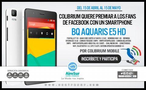 Sorteamos Un Smartphone Bq Aquaris E5 Hd Teléfono Inteligente Sorteo Smartphone
