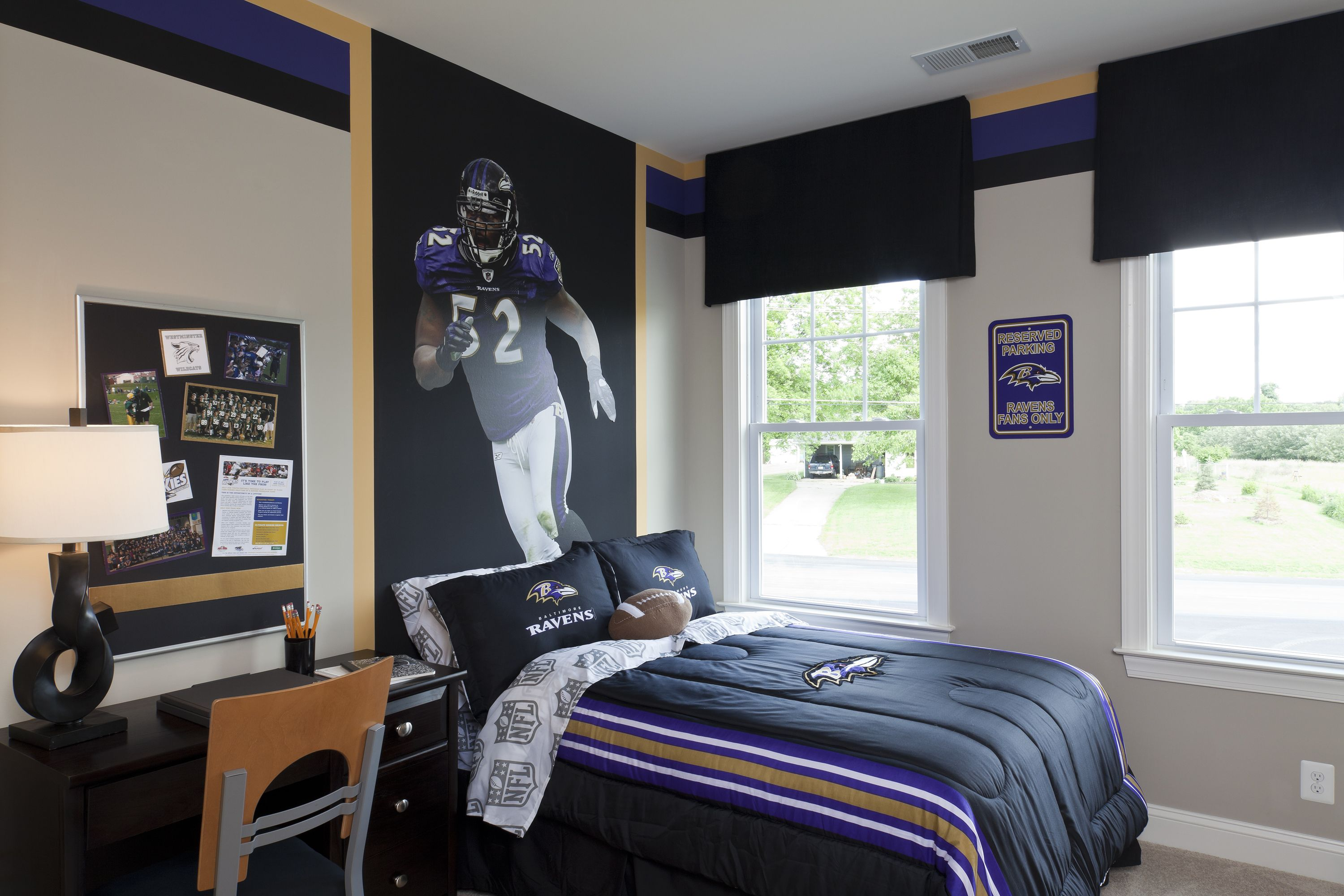 Attractive Madison  Ravens Secondary Bedroom