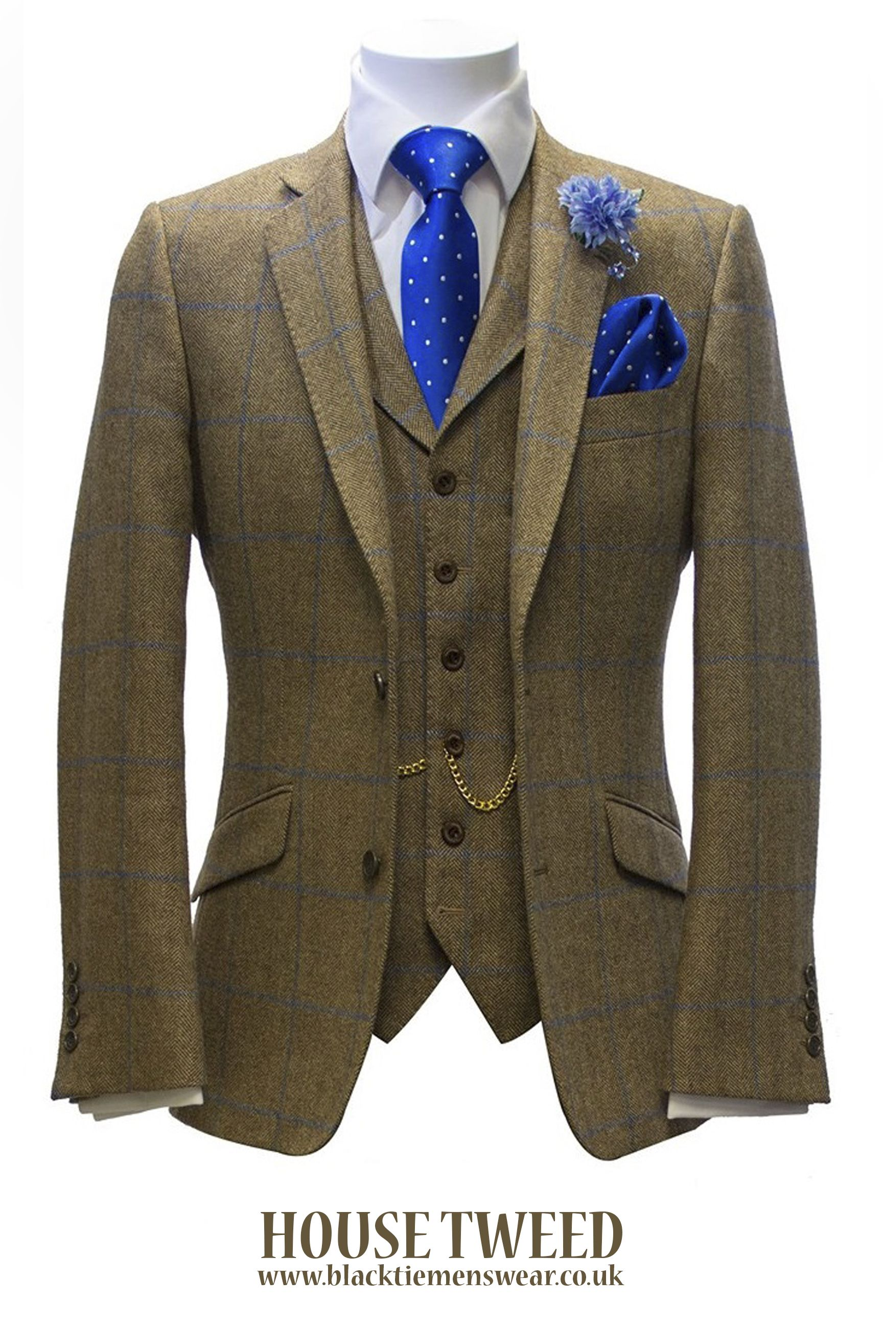d1642d0d35e6 Our award-winning exclusive house 3-piece tweed suit hire package is priced  at