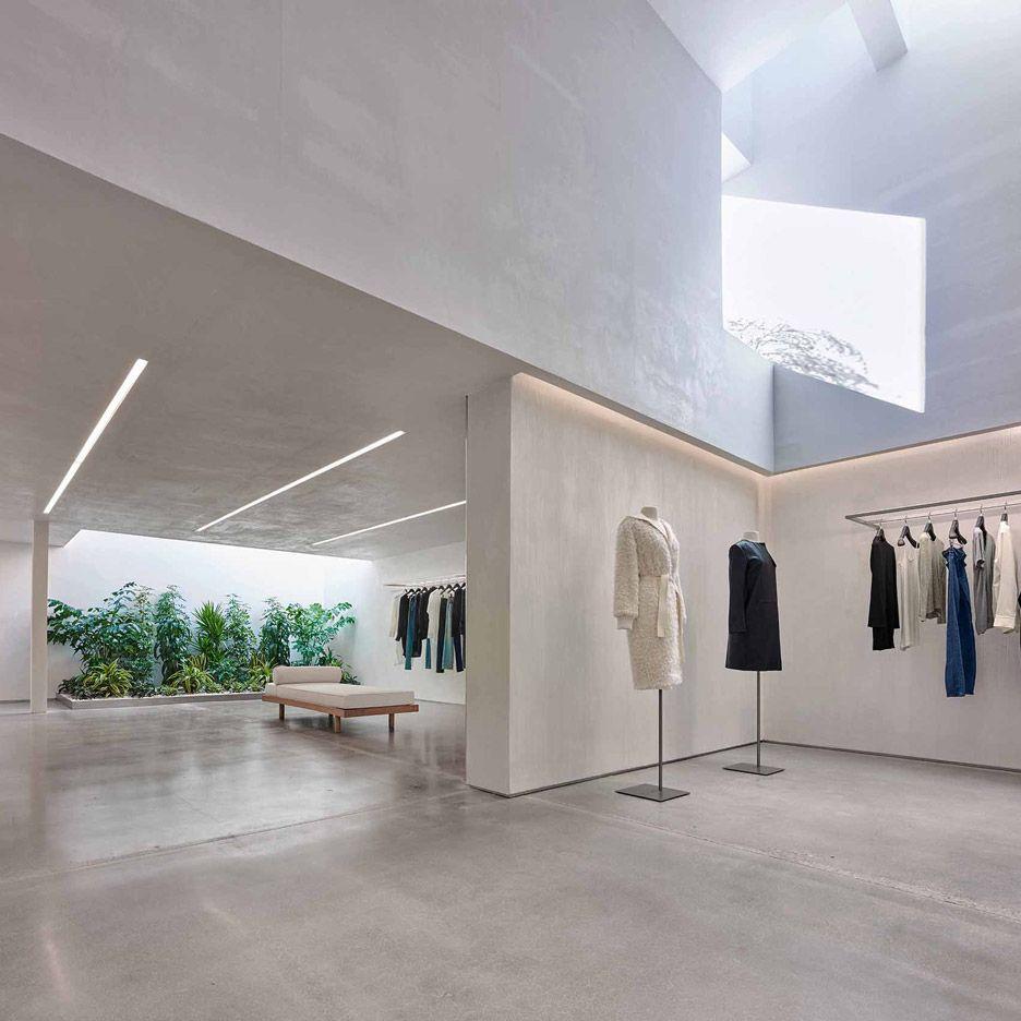Helmut Lang Concept Store In LA By Standard Architecture Shop Interior DesignStore