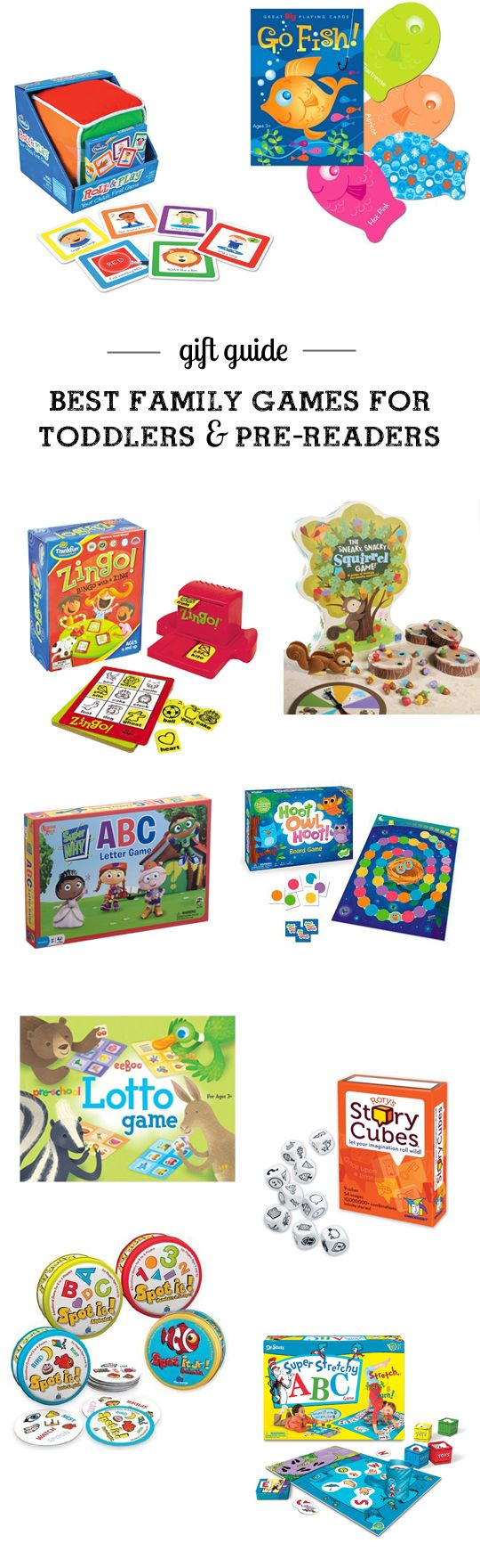 gift guide best games to start a family game night with
